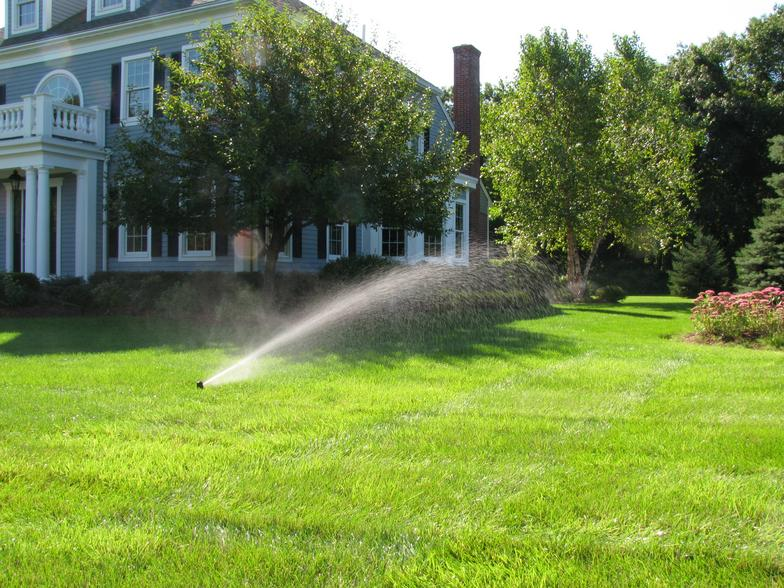 Evergreen Lawn Sprinkler System